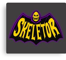 Bat-Skeletor Canvas Print