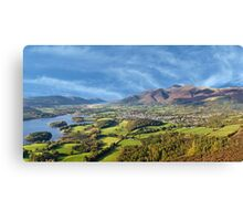 Lake District England Canvas Print