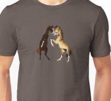 Stallions Fighting Unisex T-Shirt