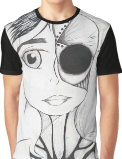 Android Girl Graphic T-Shirt