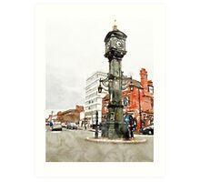 Birmingham - Jewellery Quarter Art Print