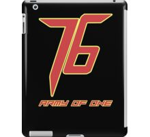 Soldier 76 Army Of One iPad Case/Skin