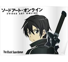 SAO The Black Swordsman Poster