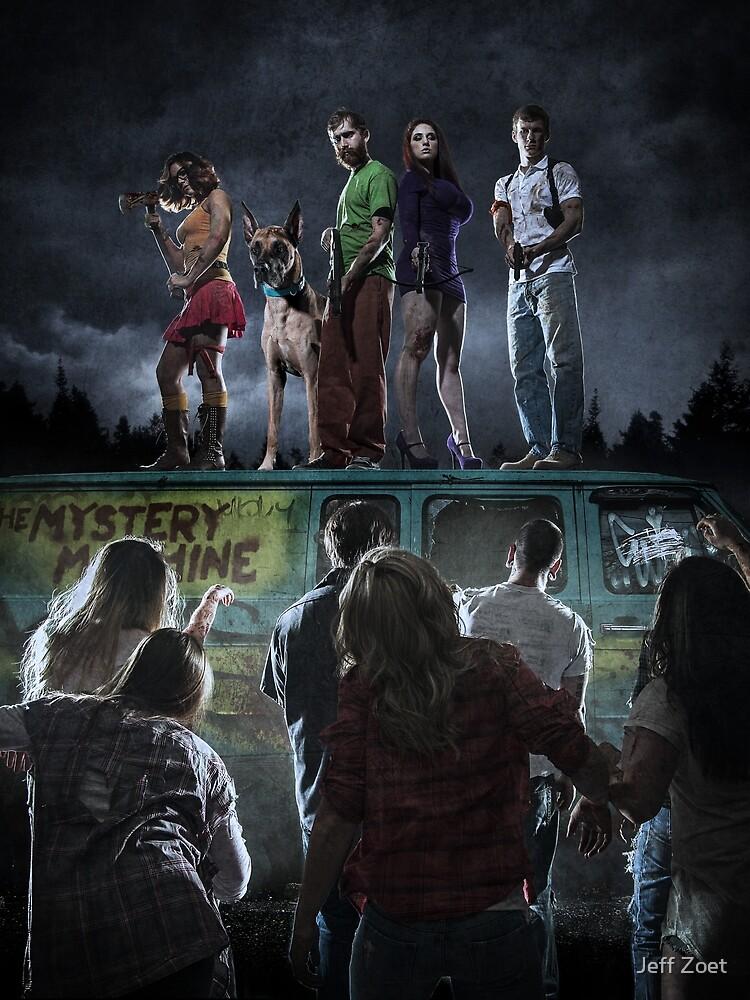 Scooby-Doo Zombie Apocalypse by Jeff Zoet