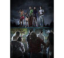 Scooby-Doo Zombie Apocalypse Photographic Print