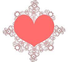 Heart Flake V by thedustyphoenix