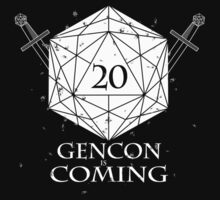 Gencon is coming by Tee NERD