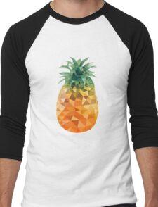 Low Poly Pineapple Men's Baseball ¾ T-Shirt