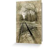 Time Travel....... Greeting Card