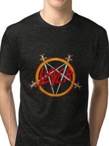 slayer logo Tri-blend T-Shirt