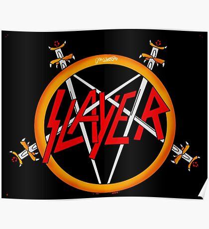 slayer logo Poster