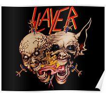 slayer skull Poster