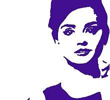 Jenna Coleman Popart by missgallifreyan