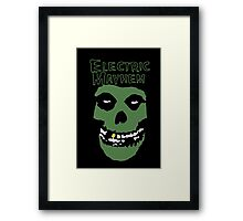 Electric Mayhem Parody Logo Framed Print