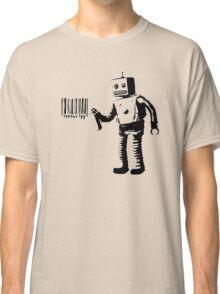 BANKSY - ROBOT BARCODE Classic T-Shirt