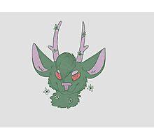 Green Deer Photographic Print