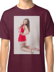woman with perfect skin posing Classic T-Shirt