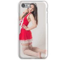 woman with perfect skin posing iPhone Case/Skin