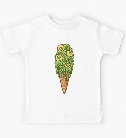 Mutant Ice Cream (slime) Kids Tee