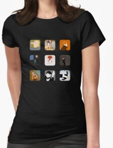 Now Apps What I Call Bowie Womens Fitted T-Shirt