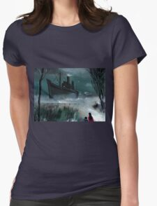Dream Boat Womens Fitted T-Shirt