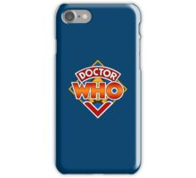 Classic Doctor Who Diamond Logo. iPhone Case/Skin