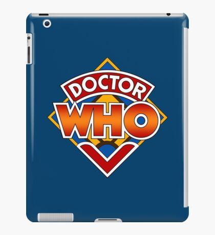 Classic Doctor Who Diamond Logo. iPad Case/Skin