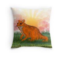 Sunrise Animal Throw Pillow