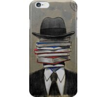 mr wellread iPhone Case/Skin