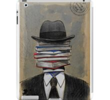 mr wellread iPad Case/Skin