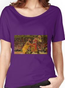 LeBron James vs Dwyane Wade Women's Relaxed Fit T-Shirt