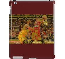 LeBron James vs Dwyane Wade iPad Case/Skin