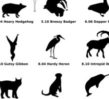 ubuntu linux releases pets fan art Sticker
