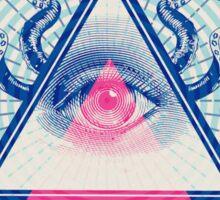 Illuminati Pop Sticker