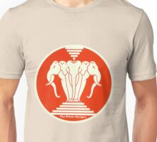 The white stripes - Elephant Unisex T-Shirt