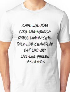 Friends- Best qualities Unisex T-Shirt