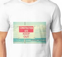 Construction Site - Keep Out Unisex T-Shirt