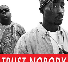 Tupac & Biggie Smalls by tracyfungus