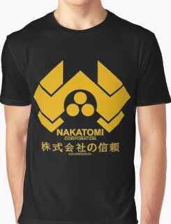 Nakatomi Corporation Hard Graphic T-Shirt