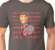 Detective and a Father Unisex T-Shirt