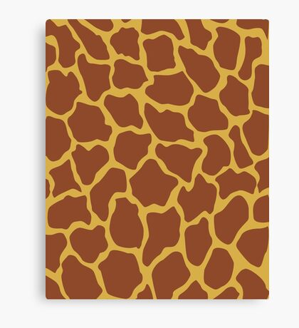 Pantone Giraffe Canvas Print