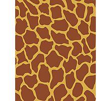Pantone Giraffe Photographic Print