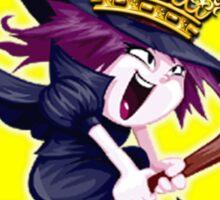 I Am the Queen of Halloween  Sticker