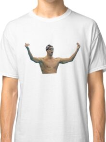 Phelps 200 Fly Win Reaction Classic T-Shirt