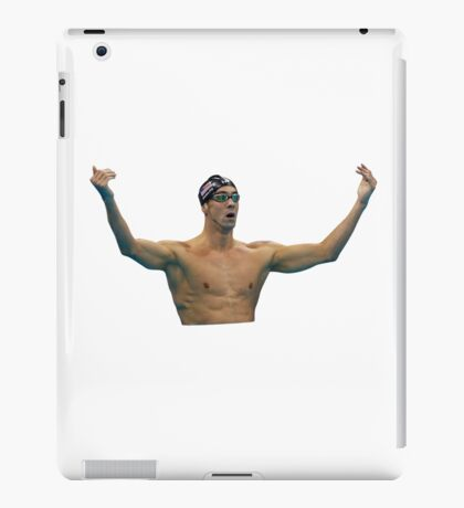 Phelps 200 Fly Win Reaction iPad Case/Skin