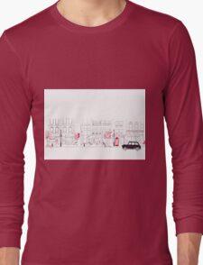 London Street Scene - Seven Dials Long Sleeve T-Shirt