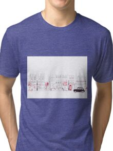 London Street Scene - Seven Dials Tri-blend T-Shirt