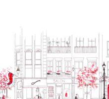 London Street Scene - Seven Dials Sticker