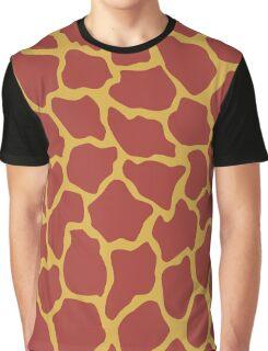 Gryffindor Giraffe Graphic T-Shirt