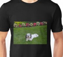 Olive and Flowers Unisex T-Shirt